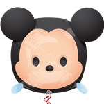 "Disney Tsum Tsum Mickey UltraShape Balloon - 19"" Foil"