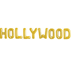 'Hollywood' Gold Balloon Kit - 16""