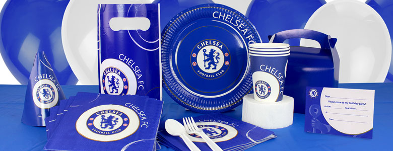 Chelsea Football Club Partyware Party Delights