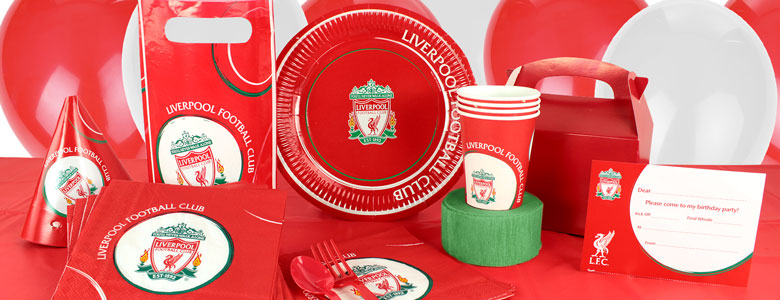 Liverpool Football Club Partyware Party Delights