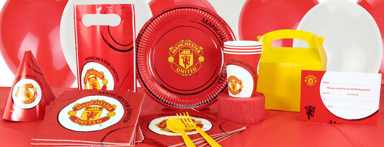 Manchester United FC Party Supplies