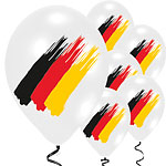 "German Euro Cup Balloons - 11"" Latex"