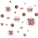 18th Glitz & Glamour Birthday Confetti - 34g Bag