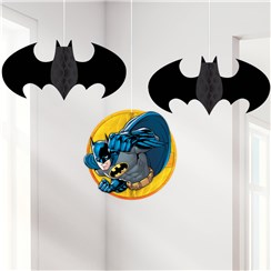 Batman Honeycomb Hanging Decorations