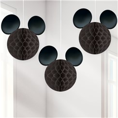 Mickey Mouse Honeycomb Hanging Decorations
