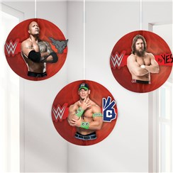 WWE Wrestling Honeycomb Hanging Decorations