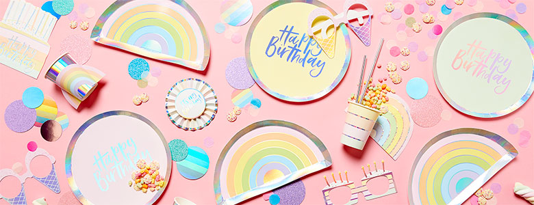 Pastel Party Supplies