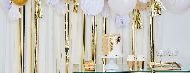 Mix It Up Gold Party Supplies