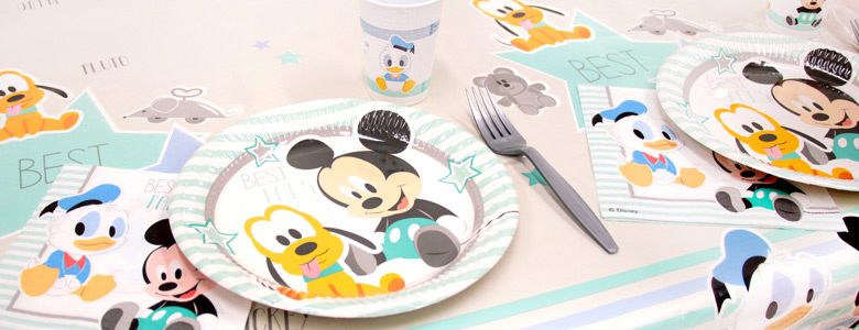 Mickey Mouse 1st Birthday Party Supplies Party Delights