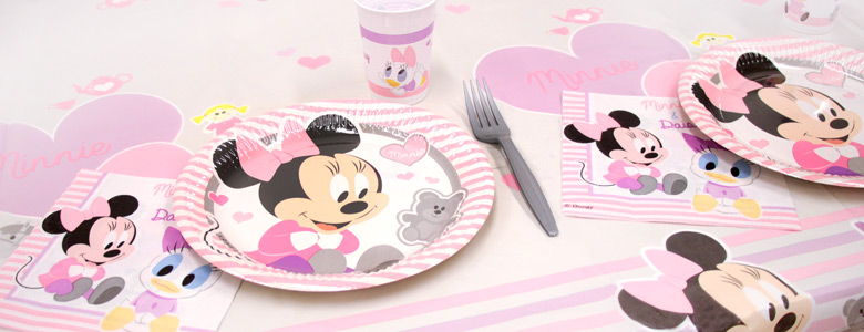 Minnie Mouse 1st Birthday Party Supplies Woodies Party