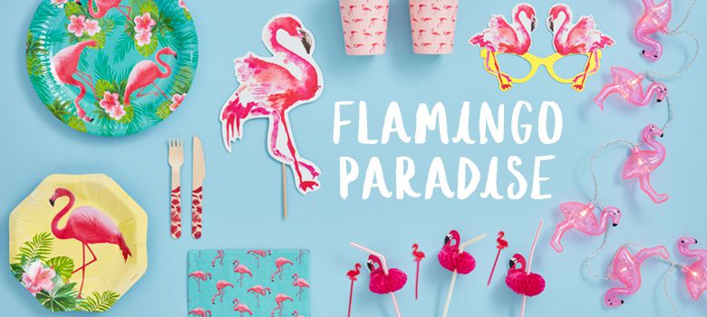 Flamingo Paradise Party Supplies