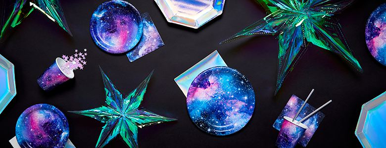 Galaxy Birthday Party Supplies