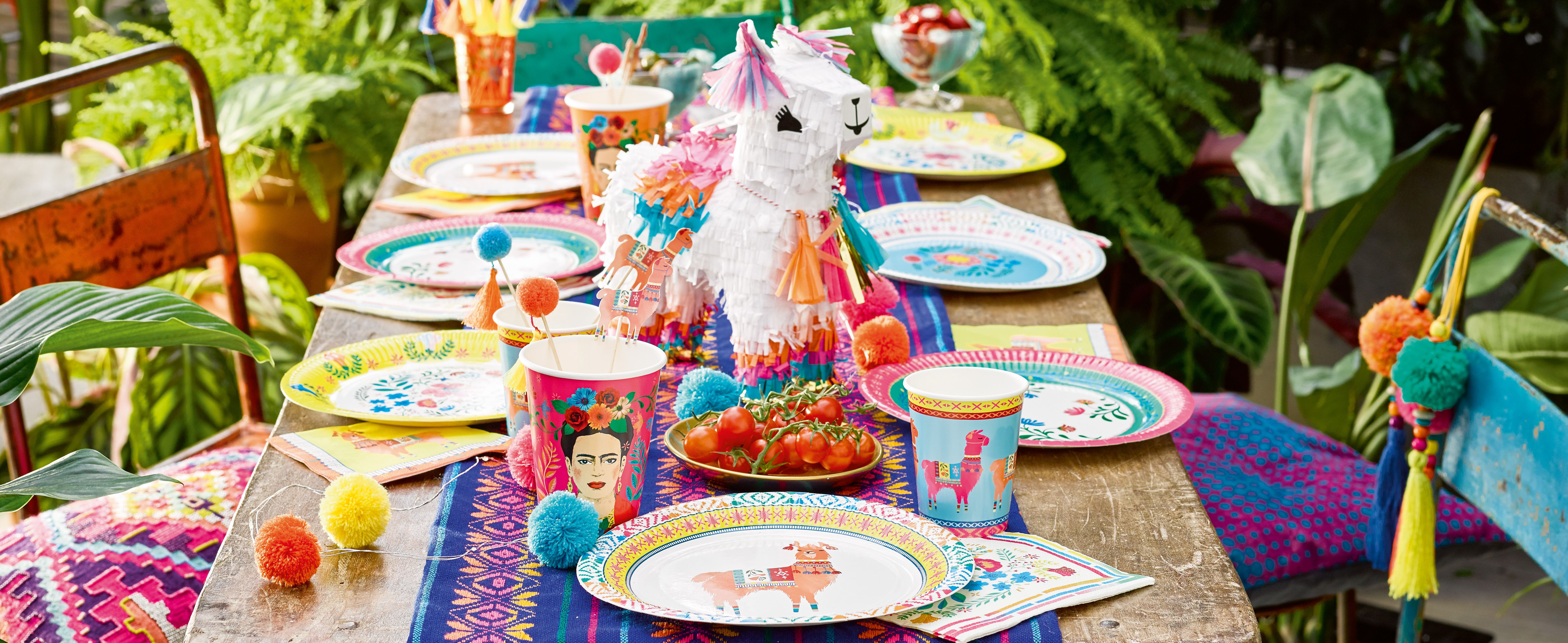 Mexican Boho Party Supplies