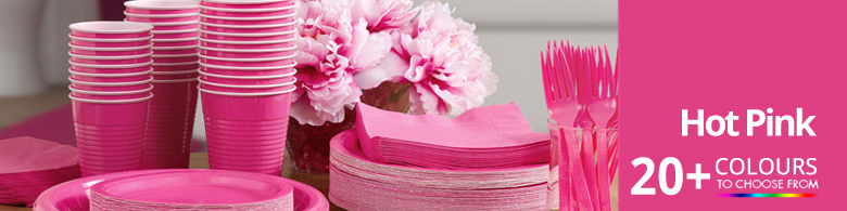 Hot Pink Party Supplies
