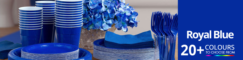 Royal Blue Party Supplies