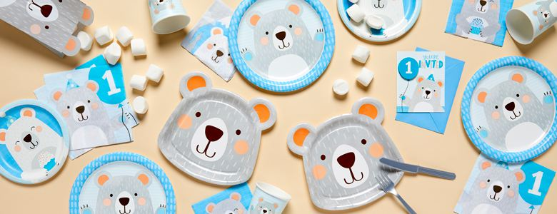 Birthday Bear Party Supplies