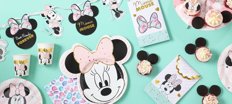 Minnie Gem Party Supplies