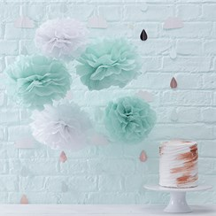 Hello World Pom Pom Decorations - 33cm