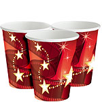 Hollywood Lights Paper Cups - 256ml