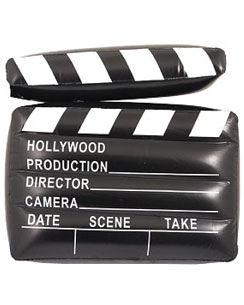 Inflatable Clapper Board - 43cm