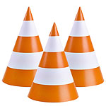 JCB Party Cone Hats