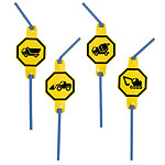 JCB Party Drinking Straws