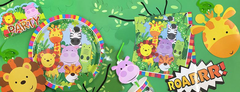 Animal Friends Party Supplies