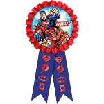 Justice League Award Ribbon