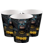 LEGO Batman Cups - 256ml Paper Party Cups