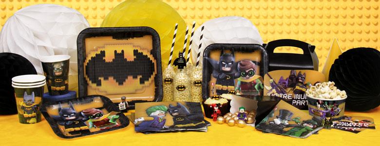 LEGO Batman Party Supplies | Woodies Party