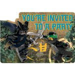 Lego Ninjago Party Invitations
