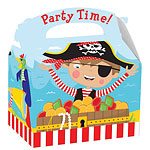 Little Pirate Party Box - 15cm long