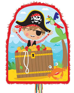 Little Pirate Pull Pinata