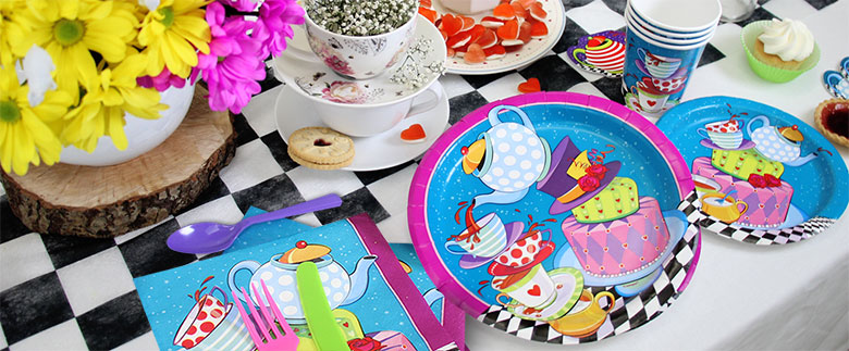 Mad Hatter's Tea Party Supplies