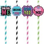 Mad Tea Party Straws