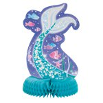 Magical Mermaid Honeycomb Centerpiece - 35cm
