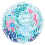 "Magical Mermaid Balloon - 18"" Foil"