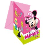 Minnie Mouse Die-Cut Invitations & Envelopes