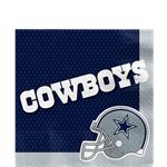 NFL Dallas Cowboys Napkins - Paper Lunch Napkins