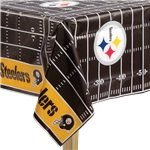 NFL Pittsburgh Steelers Tablecover - Plastic Tablecover
