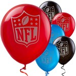 NFL Drive Balloons - 12'' Latex