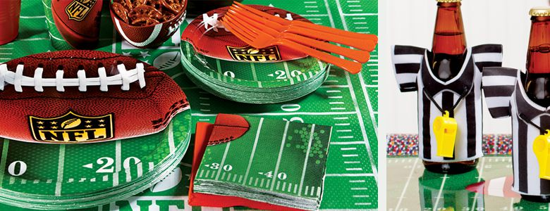 Nfl Party Supplies Superbowl Party Party Delights