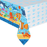 Ocean Buddies Plastic Tablecover