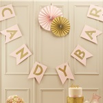 Pastel Perfection 'Candy Bar' Bunting - 2m