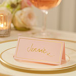 Pastel Perfection Wedding Place Cards
