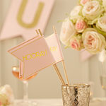 Pastel Perfection Flags - 30cm