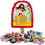 Little Pirate Pull Piñata Kit