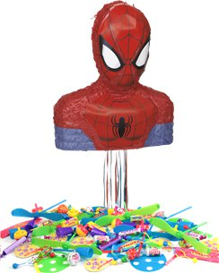 Spider-Man Pull Piñata Kit