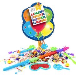 Balloon Pull Piñata Kit