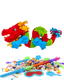 Chinese Dragon Piñata Kit